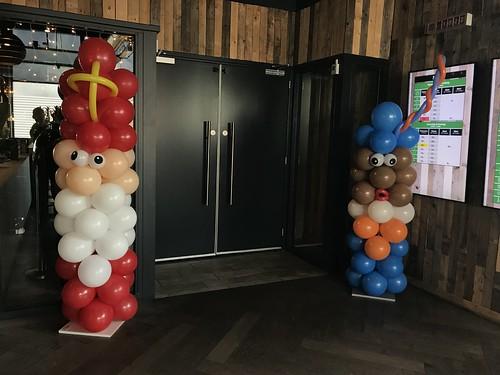 Ballonpilaar Sinterklaas Zwarte Piet Watertuin Spijkenisse