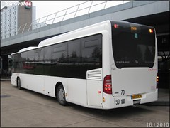 Mercedes-Benz Citaro LE – Véolia Transport – Établissement de Conflans-Sainte-Honorine  / STIF (Syndicat des Transports d'Île-de-France) n°7121