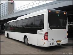 Mercedes-Benz Citaro LE – Véolia Transport – Établissement de Conflans-Sainte-Honorine  / STIF (Syndicat des Transports d'Île-de-France) n°7121 - Photo of Louvres