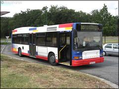 Heuliez Bus GX 317 – Tisséo – Réseau Urbain / Tisséo n°9607