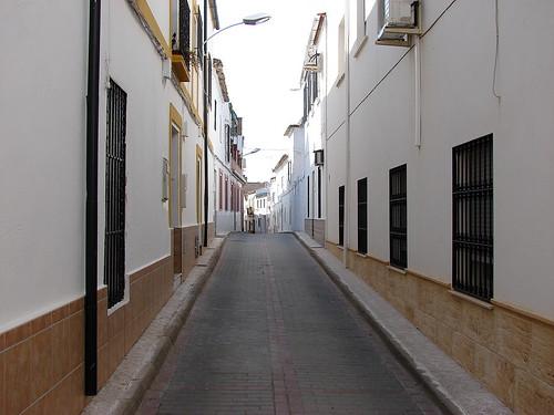 Calle Francisco Quevedo en Posadas