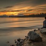 Denali Sunset Alaska by Richard White