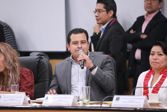 28/11/2019 Comisiones Unidas De Justicia Y Gobernación Y Población Reunión Extraordinaria