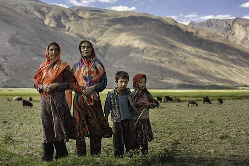 Wakhi shepherds in Wakhan Corridor, Afghanistan.