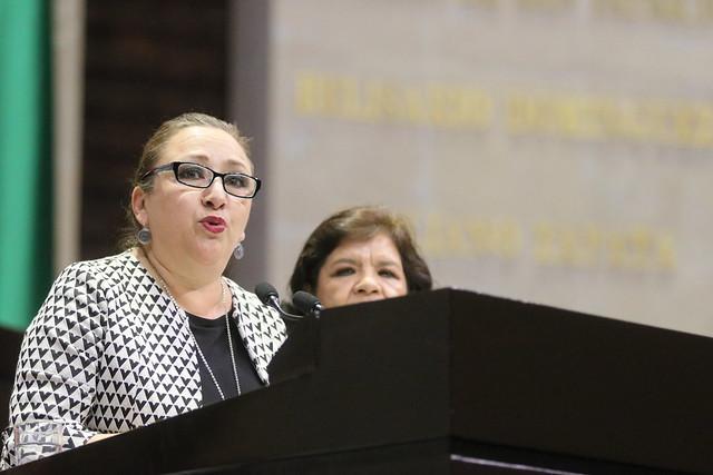 28/11/2019 Tribuna Dip. María Isabel Alfaro Morales