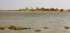 Mosque over the salt marsh