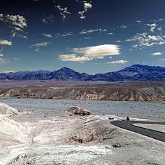 Zabriskie Point, Death Valley, CA, USA