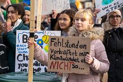 Fridays for future in Düssseldorf 29.11.2019
