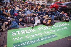 Fridays for future in Düsseldorf 29.11.2019