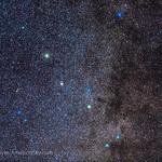 The Constellation of Sagitta the Arrow