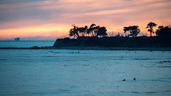 Sunset at Coal Oil Point