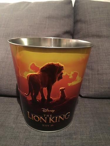 2019 Golden Link Disney Live-Action The Lion King Popcorn Bucket