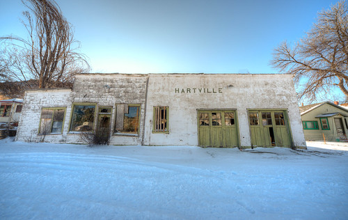 Downtown, Hartville, Wyoming
