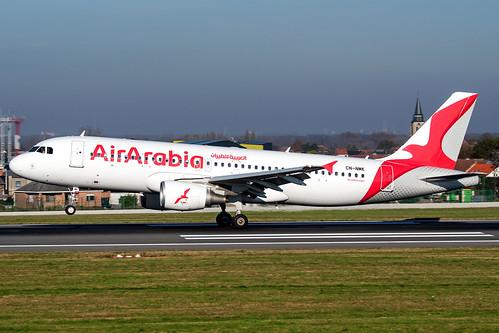 CN-NMK   Airbus A320-214   Air Arabia Maroc