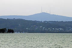 From Eleebana to Mt Sugarloaf in a smoke haze