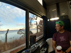 The Lower Potomac from the Amtrak Silver Star