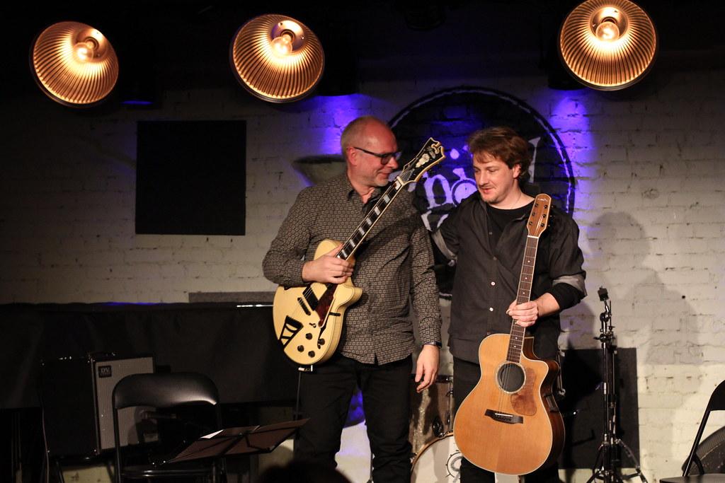Jazz.ee ja Philly Joe's LIVE / Mart Soo ja Mathieu Spaeter kitarriduo 29.11.19