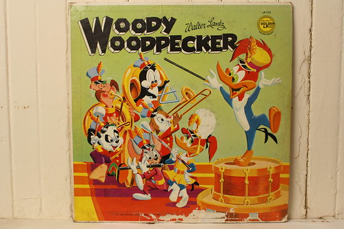 Woody Woodpecker Record ( Golden 1963 )