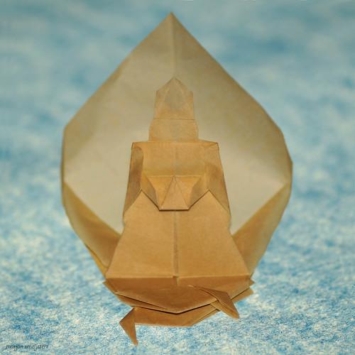 Origami Buddha (Jyh-Chang Su)