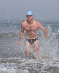 Explosive Male Swimmer