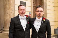 At William's & Mimi's Wedding