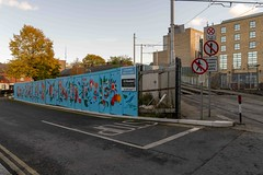 URBAN EXPRESSION AND DEPRESSION AT PETERS PLACE - 8 NOVEMBER 2019  [ON THE LUAS GREEN LINE]-158324