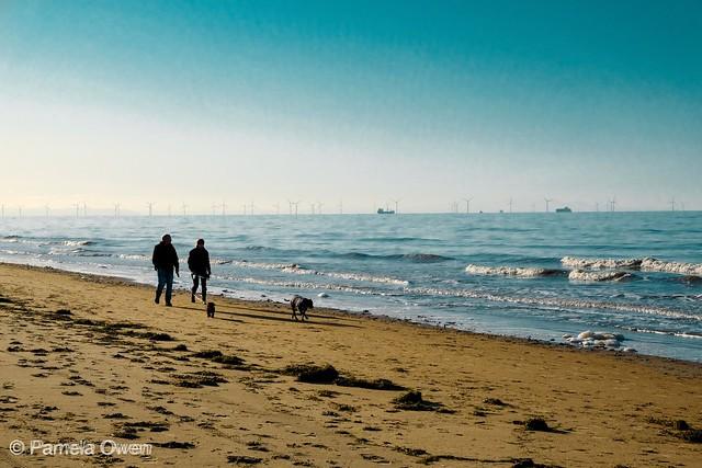 A Sunny Formby Beach in November