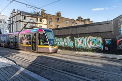 URBAN EXPRESSION AND DEPRESSION AT PETERS PLACE - 8 NOVEMBER 2019  [ON THE LUAS GREEN LINE]-158316