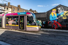 URBAN EXPRESSION AND DEPRESSION AT PETERS PLACE - 8 NOVEMBER 2019  [ON THE LUAS GREEN LINE]-158317