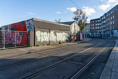 URBAN EXPRESSION AND DEPRESSION AT PETERS PLACE - 8 NOVEMBER 2019  [ON THE LUAS GREEN LINE]-158321