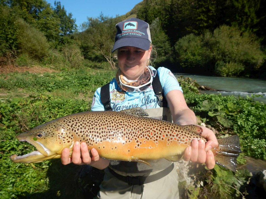 Women and Flyfishing with Luca  in Tuscany and Umbria