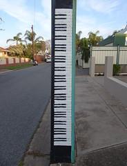 Keyboard on a Stobie Pole