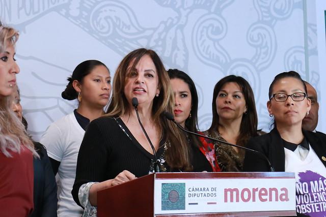 28/11/2019 Conferencia De Prensa Diputada Paola González