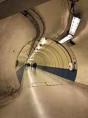 Kings Cross, Pentonville Road exit tunnel