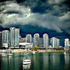 Clouds over Vancouver