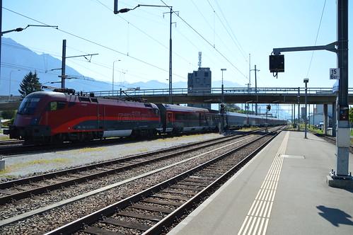 RJ 165 Zürich HB - Budapest Keleti pu