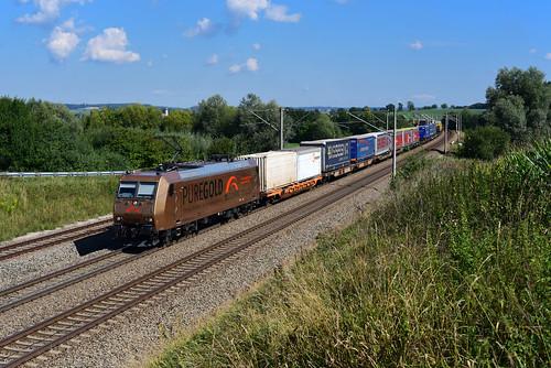 185 538-6 TX Logistik I DGS 43109 I Pure Gold I Vierkirchen (9339)