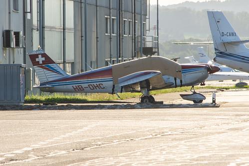 EFOS Flugschule Piper PA-28-180 HB-OHC