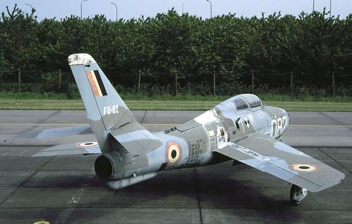 F-84F Belgium