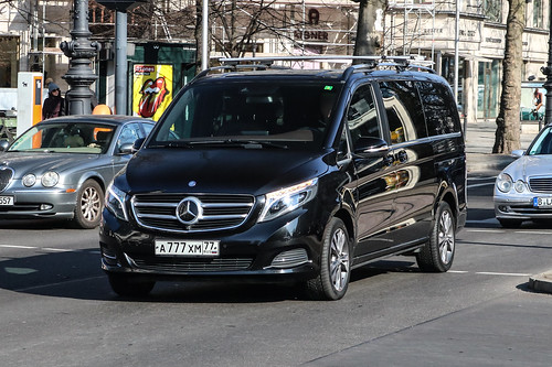 Russia (Moscow) - Mercedes-Benz V-Class W447