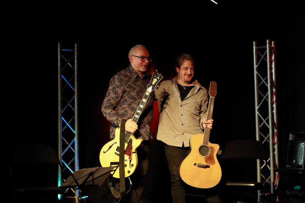 Jazz.ee ja BVSC Jazziklubi Live / Mart Soo ja Mathieu Spaeter kitarriduo 30.11.19 Rakveres