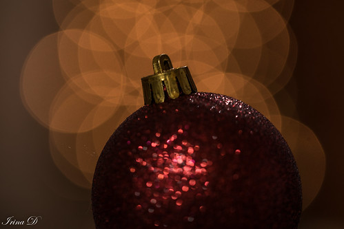 Holiday dreams of red and glitter  MM