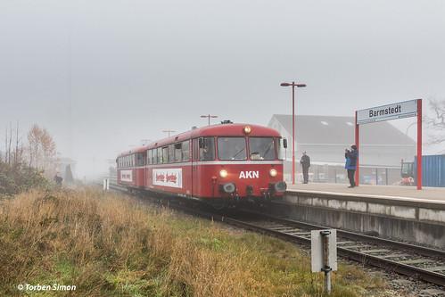 AKN Eisenbahn GmbH VT3.08 & 3.09 | Bahnhof Barmstedt