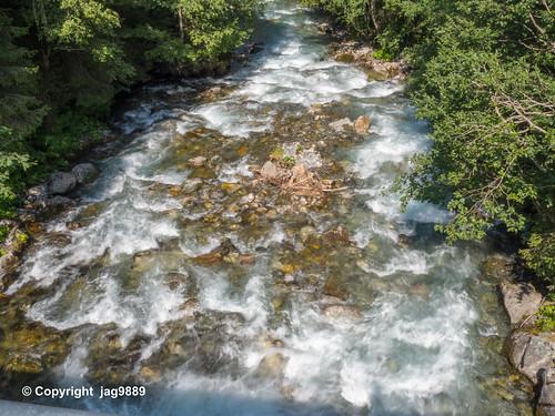 Plessur River, Litzirüti, Canton of Grisons, Switzerland