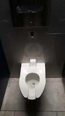 Toilet Stall @Jamaica Airtrain Station