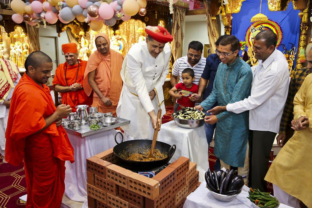 Maharajshree Visit - Perth Mandir