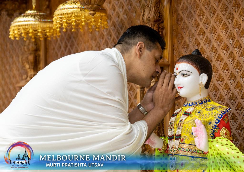 Murti Pratishtha - Melbourne Mandir
