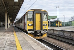 Croeso i Gymru*: ex-Greater Anglia class 153s at Cardiff Central