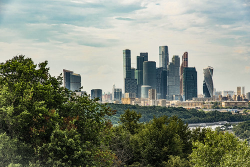 Modern Moscow- Downtown...