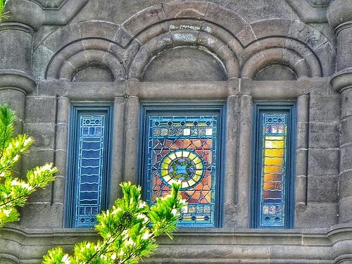 Syracuse New York ~ University of Syracuse ~ Henricks Chapel - Stain Glass Window